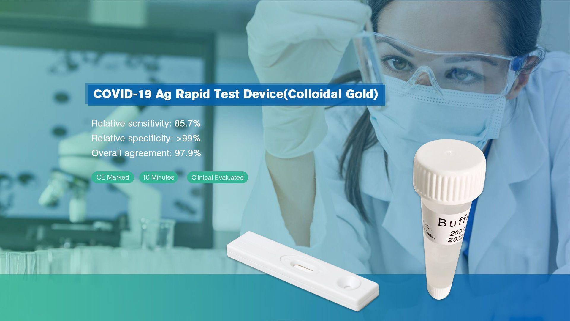 COVID-19-Ag Rapid Test Device